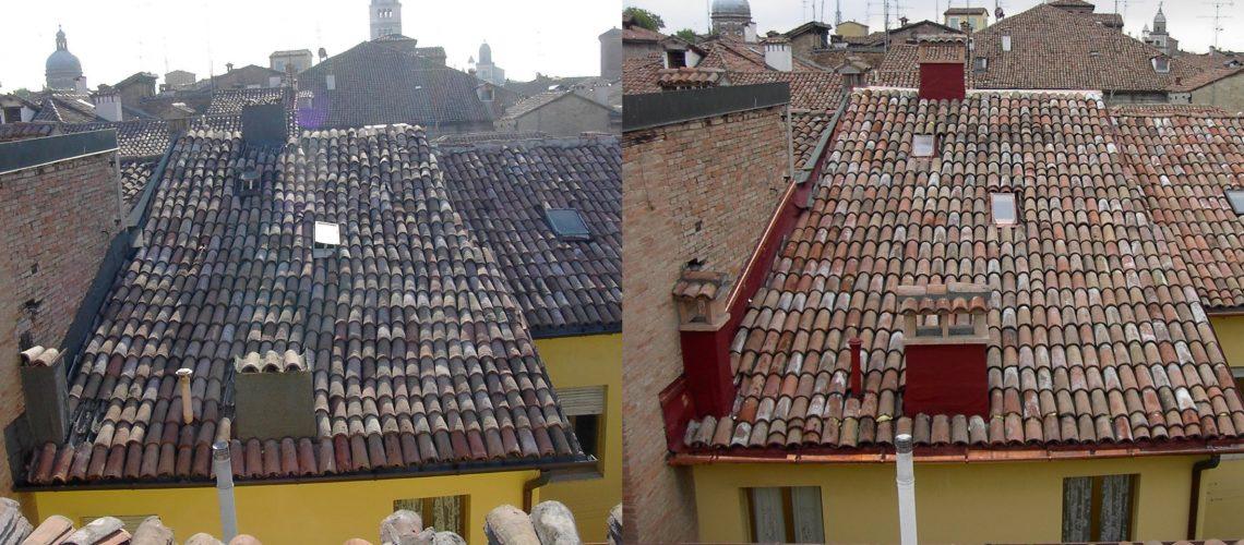 Riparazione e ristrutturazione tetti e grondaie